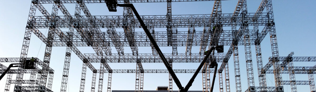 Entertainment Stage Rigging